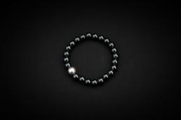 Hämatit-Armband Silber 925